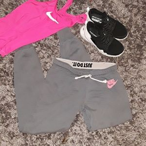 Nike drawstring sweatpants